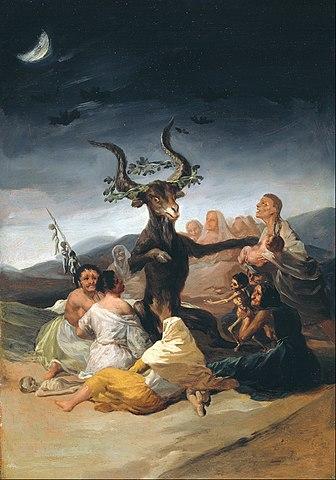 Aquelarre, cuadro de Francisco de Goya