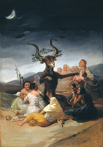 File:Francisco de Goya y Lucientes - Witches Sabbath - Google Art Project.jpg
