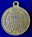 Franco-Prussian War, Battle of Bapaume (1871) French 1st Anniversary Medal 1872, reverse.jpg