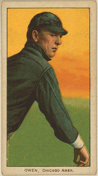 Frank Owen (baseball) - Frank Owen baseball card