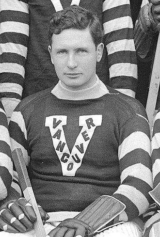 Frank Patrick (ice hockey) - Patrick while a member of the Vancouver Millionaires, 1913–1914