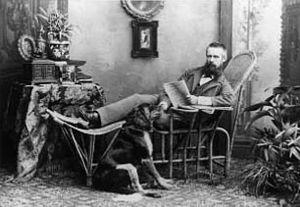 Franz Benque - Franz Benque, 1883.