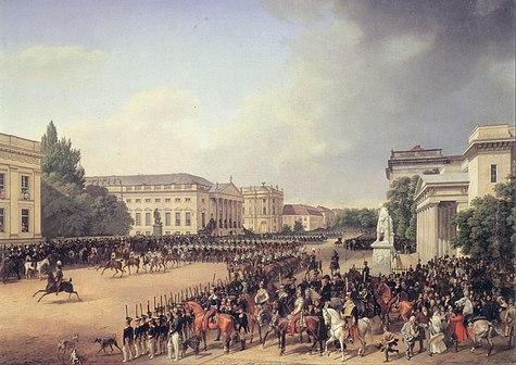 Franz Krüger Parade auf dem Opernplatz Berlin.jpg