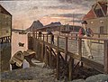 Frederik Collett - Pier in Bodø - NG.M.01044 - National Museum of Art, Architecture and Design.jpg