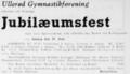 Frederiksborg Amtstidende - 26 June 1947 - Advertisement Ullerød Gymnastikforening 10-aarige Jubilæumsfest.png