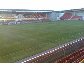 Fredrikstad Stadion Nowegian football stadium