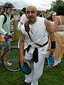 Fremont Solstice Parade 2007 - drummer at Gasworks.jpg