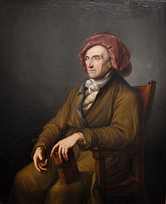 Johann Friedrich Wilhelm Jerusalem - Jerusalem by Friedrich Georg Weitsch, 1790.