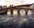 Frits Thaulow - The Adige River at Verona - Walters 3797.jpg
