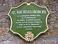 Fulda - St. Michaelskirche (Schild).JPG