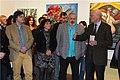 Günter Stummvoll eröffnet die Ausstellung von Matthias Laurenz Gräff und Helmuth Gräff in der Galerie Daliko.jpg