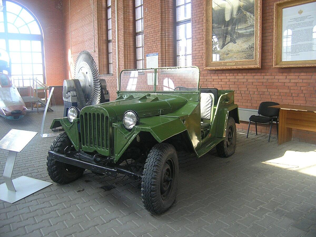 Drive A Tank >> GAZ-67 - Wikipedia