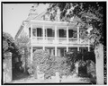 GENERAL VIEW, SOUTHEAST CORNER - George Eveleigh House, 39 Church Street, Charleston, Charleston County, SC HABS SC,10-CHAR,244-1.tif