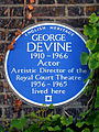 GEORGE DEVINE 1910-1966 Actor Artistic Director of the Royal Court Theatre 1956-1965 lived here.jpg