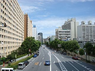 Hiroo, Shibuya District located in Shibuya, Tokyo, Japan