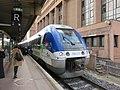 Gare de Lyon-Part-Dieu - TER Auvergne X76825 direction Clermont (fév 2019).jpg