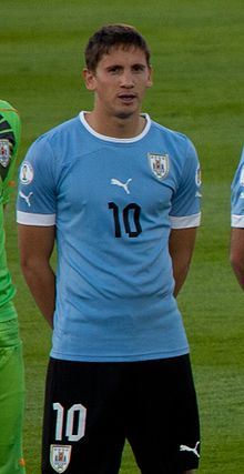 Gastón Ramírez against Chile.jpg