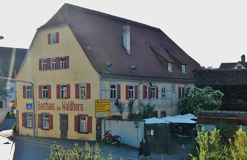 File:Gasthaus zum Waldhorn in Heimsheim - panoramio.jpg