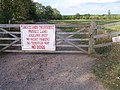 Gate to Brockamin Fisheries - geograph.org.uk - 55808.jpg