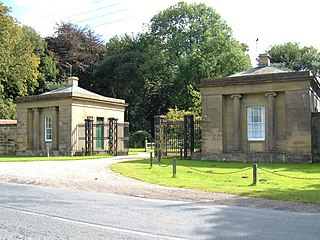 Rise Hall stately home in Rise, East Riding of Yorkshire, England
