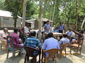 Gathering in a meeting of villagers in an Bangladeshi village 2015 10.jpg