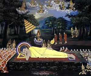 Nirvana - Image: Gautama Buddha gains nirvana