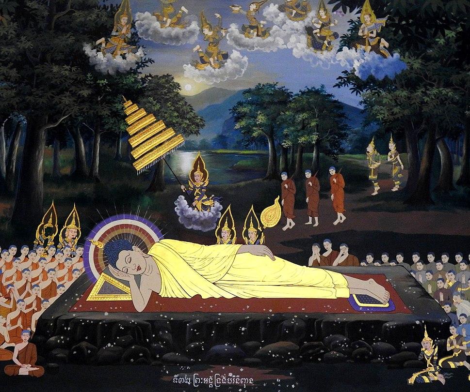 Gautama Buddha gains nirvana