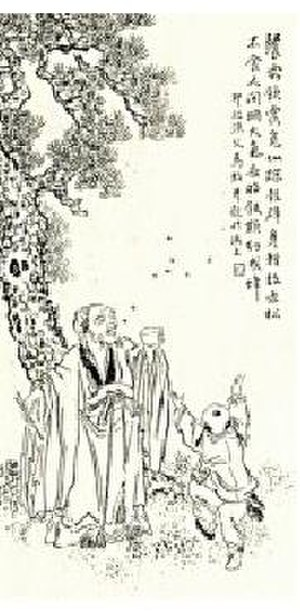 Ge Xuan - A Qing dynasty portrait of Ge Xuan