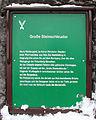 Gedenktafel Felsenburg Neurathen (Felsenburg Neurathen) Große Steinschleuder.jpg