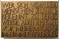 Gedenktafel Hinter der Katholischen Kirche 3 (Mitte) Christen im Widerstand.jpg
