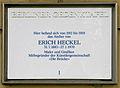 Gedenktafel Markelstr 60 (Stegl) Erich Heckel.JPG