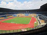 Stadion Gelora Bandung Lautan Api sebagai tempat upacara pembukaan dan penutupan.