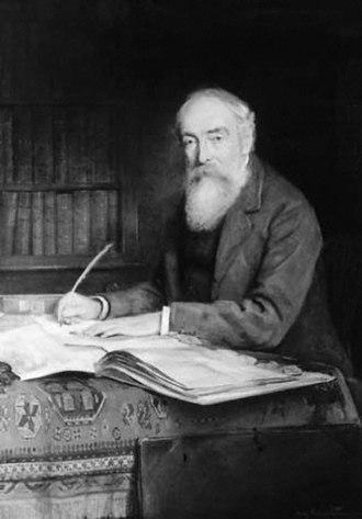 George Edward Cokayne - George Cokayne at work in 1900.