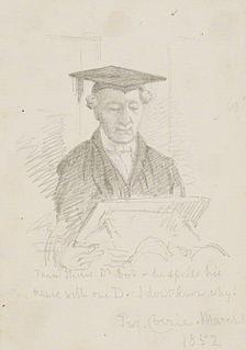 George Corrie (priest) English churchman, Master of Jesus College, Cambridge