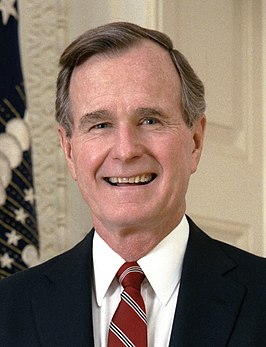 George Herbert Walker Bush in 1989