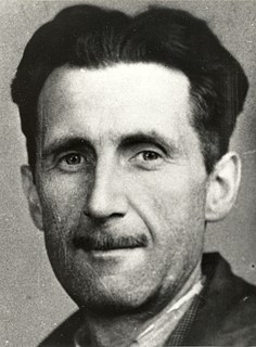 George Orwell English author and journalist