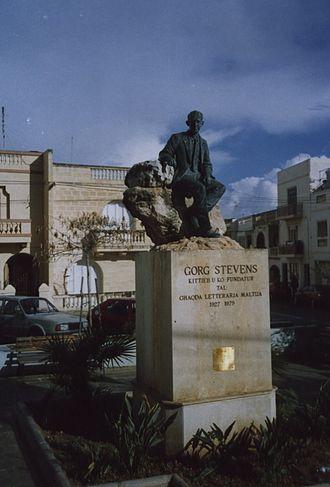 Fgura - George Stevens' Monument