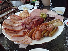 German hams, sausages and other cured meats - 20070721.jpg