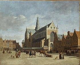 Grote Markt at Haarlem