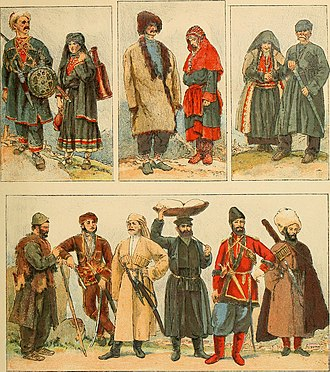 Peoples of the Caucasus - Ethnic groups inhabiting the Caucasus region