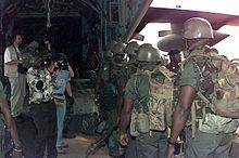 Truppe ghanesi dell'ECOMOG