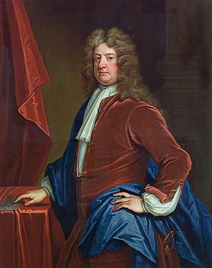Edward Russell, 1st Earl of Orford - Admiral Edward Russell, 1st Earl of Orford by Thomas Gibson, painted c. 1715