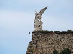 Português: anjo da morte