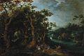 Gillis d'Hondecoeter - Landscape with a Musical Gathering.jpg