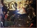 Giovanni stefano doneda detto il montalto, monetieri al lavoro nella zecca con s. eligio e la madonna col bambino, 1640 ca, dal pal. della zecca a milano.JPG