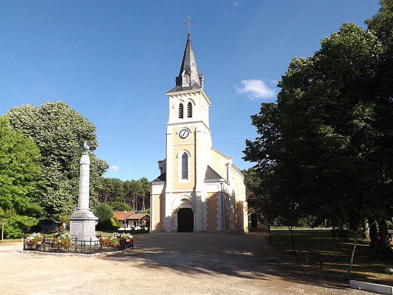 Glèisa de sent Pèr de Bòsc, Lanas, Gasconha