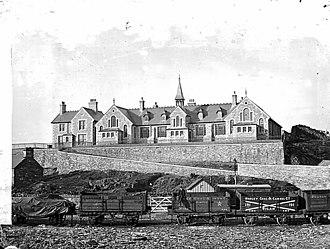 Blaenau Ffestiniog - Glan-y-pwll School, Blaenau Ffestiniog c. 1895.