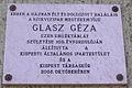 Glasz Géza Plaque in Budapest.jpg