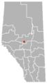 Glenevis, Alberta Location.png