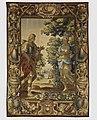 Gobelin in de Burgerzaal- De reeks van Aeneas en Dido. Aeneas ontmoet zijn moeder Venus. T1 - Nijmegen - 20421784 - RCE.jpg